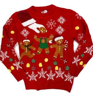 Party Sweater Dec25th Gingerbread Man Ugly Sweater